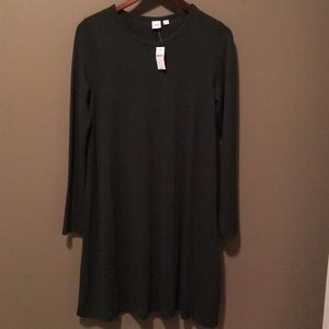 NWT Gap long sleeve swing dress size M